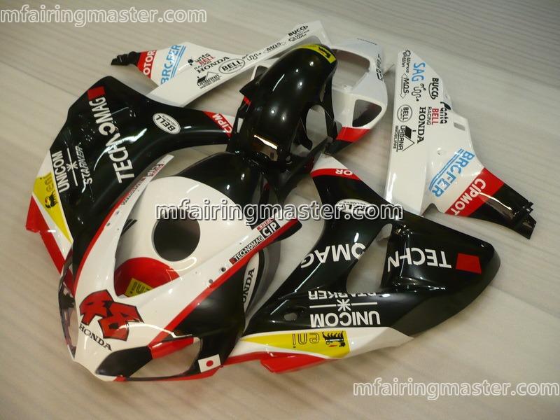Honda CBR1000RR 2006 2007 fairing kit injection molding 48 black