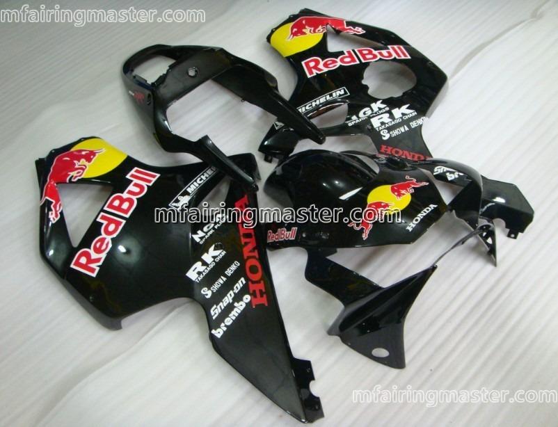Honda CBR900RR 954 2002 2003 Fairing Kit Injection Molding Black Red Bull