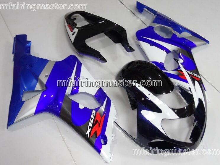 04 ABS Motorcycle Fairing Fit For Suzuki GSXR 600 750 2001-2003 By Niree